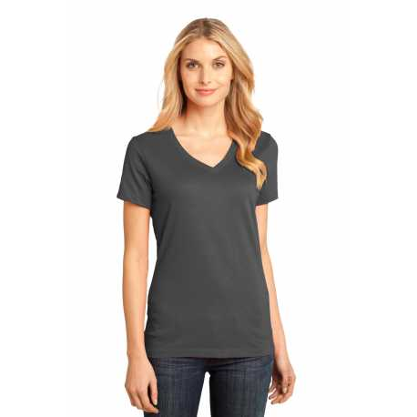 District Made Made DM1170L Made Ladies Perfect Weight V-Neck Tee
