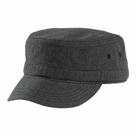 District DT619 Houndstooth Military Hat