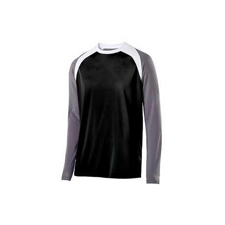 Holloway 222504 Adult Polyester Long Sleeve Shield Shirt