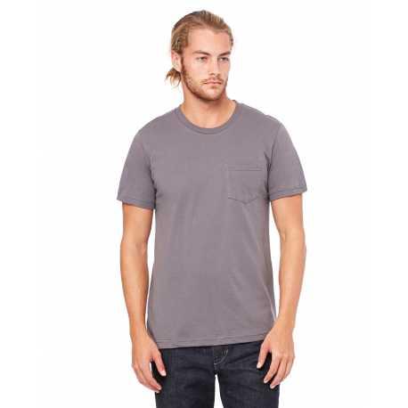 Bella + Canvas 3021 Men's Jersey Short-Sleeve Pocket T-Shirt