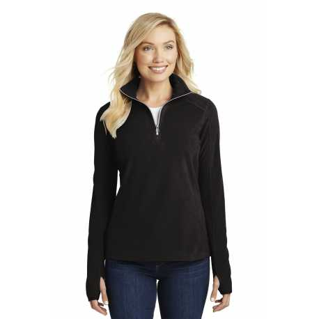 Port Authority L224 Ladies Microfleece 1/2-Zip Pullover