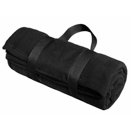Port Authority BP20 Fleece Blanket with Carrying Strap
