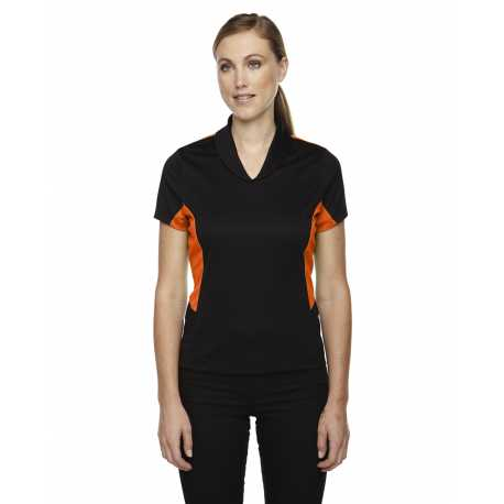 North End Sport Red 78683 Ladies' Rotate UTK cool.logik Quick Dry Performance Polo