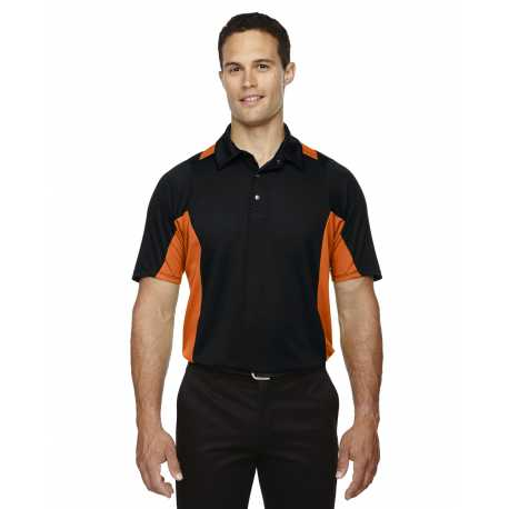 North End Sport Red 88683 Men's Rotate UTK cool.logik Quick Dry Performance Polo