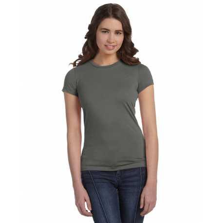 Bella + Canvas 6650 Ladies' Poly-Cotton Short-Sleeve T-Shirt