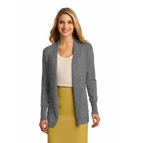 Port Authority LSW289 Ladies Open Front Cardigan Sweater