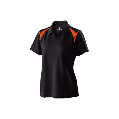 Holloway 222346 Ladies' Polyester Pique Laser Polo