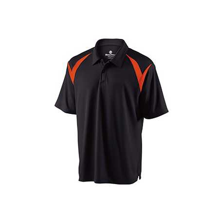 Holloway 222446 Adult Polyester Pique Laser Polo