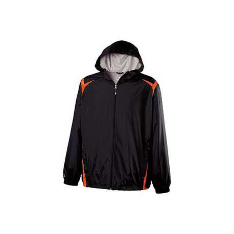 Holloway 229076 Adult Polyester Full Zip Hooded Collision Jacket