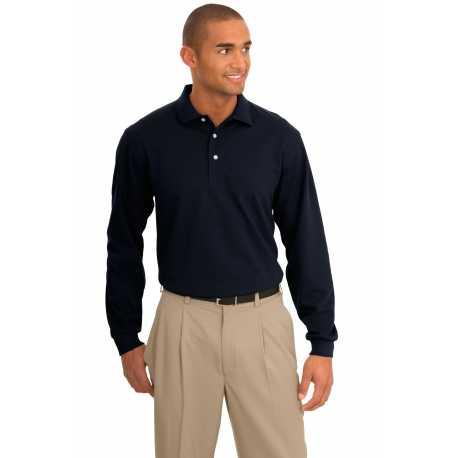 Port Authority TLK455LS Tall Rapid Dry Long Sleeve Polo