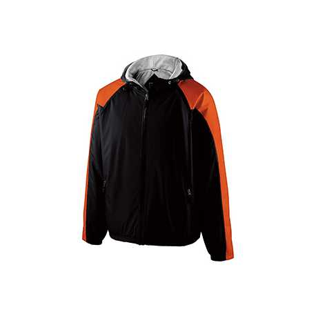 Holloway 229111 Adult Polyester Full Zip Hooded Homefield Jacket