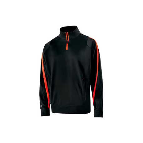 Holloway 229292 Youth Polyester 1/4 Zip Determination Pullover
