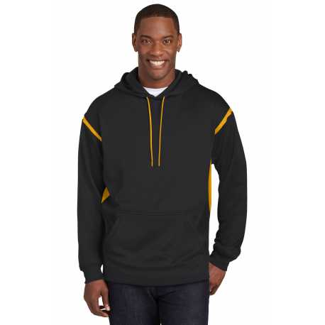 Sport-Tek TST246 Tall Tech Fleece Colorblock Hooded Sweatshirt
