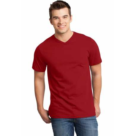 District DT6500 Young Mens Very Important Tee V-Neck