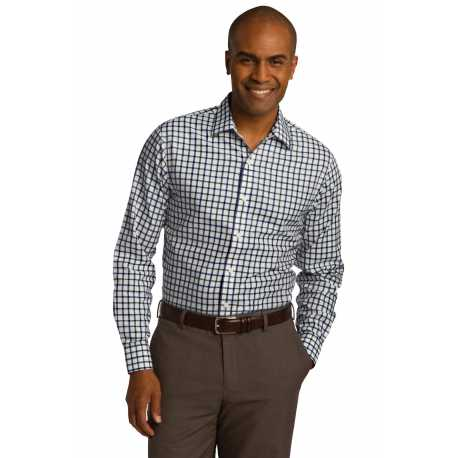 Red House RH74 Tricolor Check Slim Fit Non-Iron Shirt