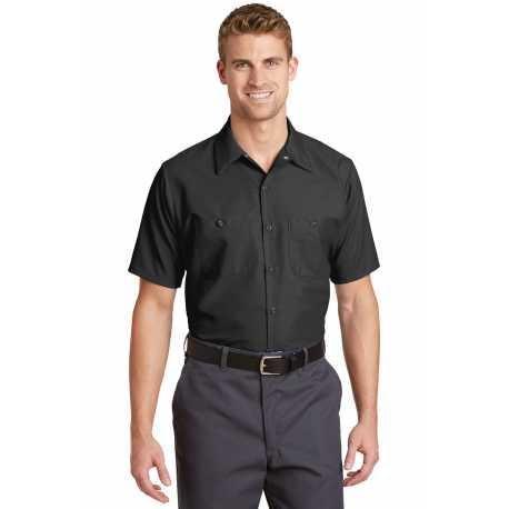 Red Kap SP24LONG Long Size Short Sleeve Industrial Work Shirt