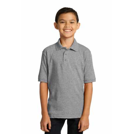 Port & Company KP55Y Youth Core Blend Jersey Knit Polo