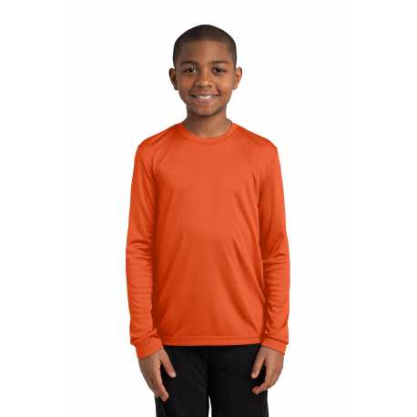 Sport-Tek YST350LS Youth Long Sleeve PosiCharge Competitor Tee