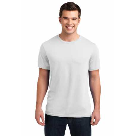 District DT4000 Young Mens Soft Wash Crew Tee
