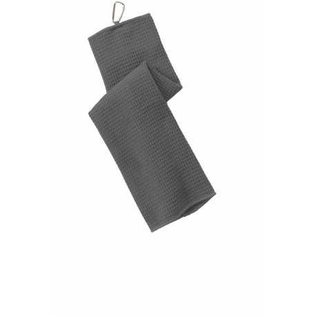 Port Authority TW60 Waffle Microfiber Golf Towel