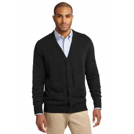Port Authority SW302 Value V-Neck Cardigan Sweater with Pockets