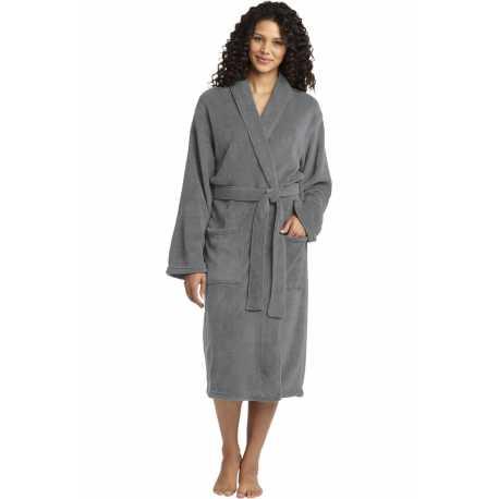 Port Authority R102 Plush Microfleece Shawl Collar Robe