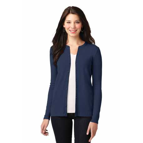 Port Authority LM1008 Ladies Concept Stretch Button-Front Cardigan