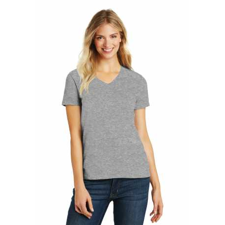 District Made Made DM1190L Made Ladies Perfect Blend V-Neck Tee