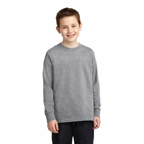 Port & Company PC54YLS Youth Long Sleeve Core Cotton Tee