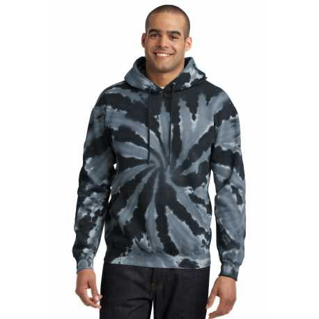 Port & Company PC146 Tie-Dye Pullover Hooded Sweatshirt