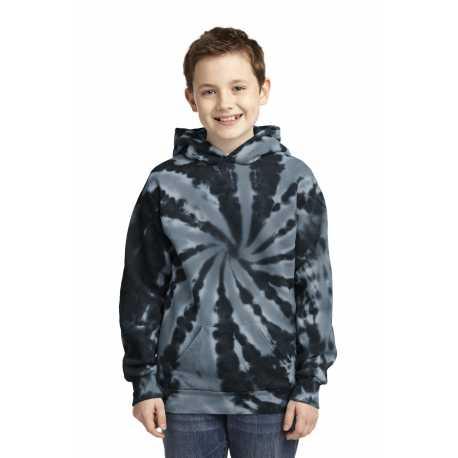 Port & Company PC146Y Youth Tie-Dye Pullover Hooded Sweatshirt