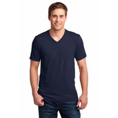 Anvil 982 100% Combed Ring Spun Cotton V-Neck T-Shirt