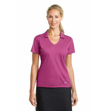 Nike 637165 Ladies Dri-FIT Vertical Mesh Polo