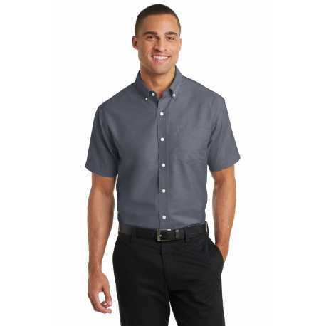 Port Authority S659 Short Sleeve SuperPro Oxford Shirt