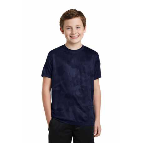 Sport-Tek YST370 Youth CamoHex Tee
