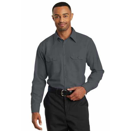 Red Kap SY50 Long Sleeve Solid Ripstop Shirt
