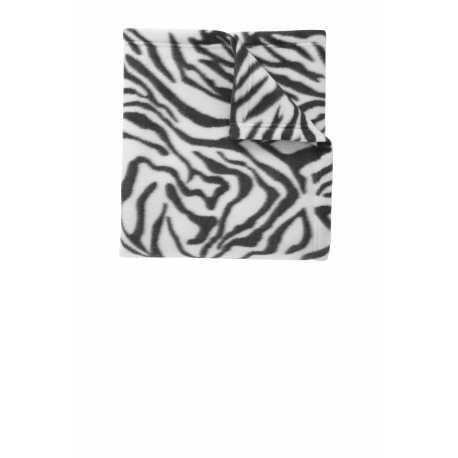 Port Authority BP61 Core Printed Fleece Blanket
