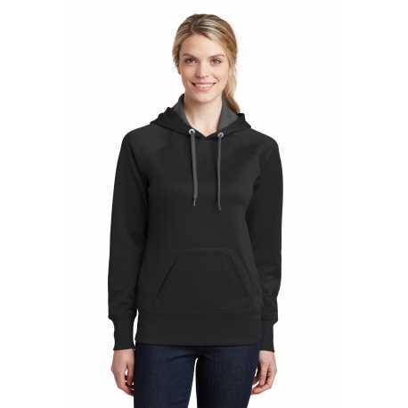 Sport-Tek LST250 Ladies Tech Fleece Hooded Sweatshirt