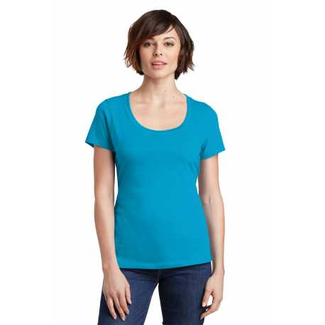 District Made Made DM106L Made Ladies Perfect Weight Scoop Tee