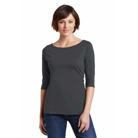 District Made Made DM107L Made Ladies Perfect Weight 3/4-Sleeve Tee