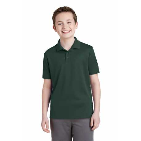 Sport-Tek YST640 Youth PosiCharge RacerMesh Polo
