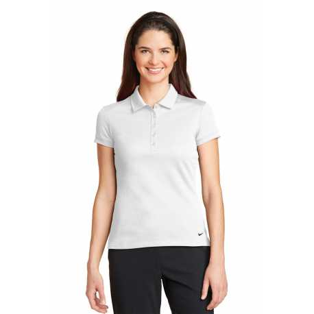 Nike 746100 Ladies Dri-FIT Solid Icon Pique Modern Fit Polo