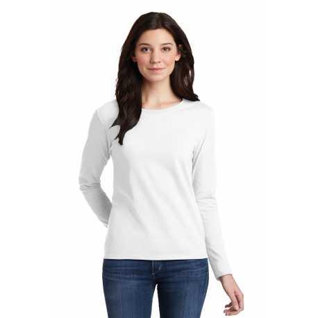 Gildan 5400L Ladies Heavy Cotton 100% Cotton Long Sleeve T-Shirt