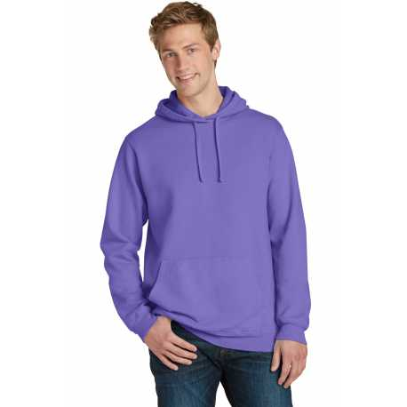 Port & Company PC098H Pigment-Dyed Pullover Hooded Sweatshirt