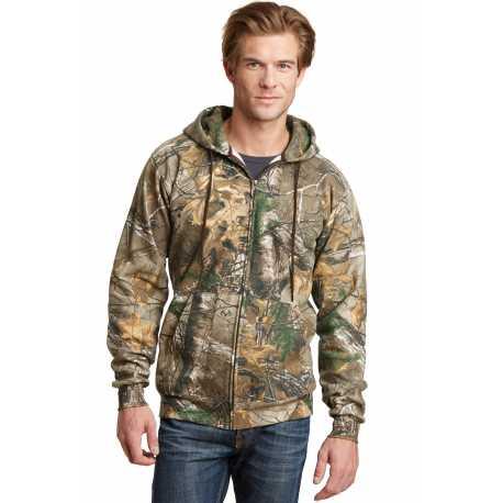 Russell Outdoors RO78ZH Realtree Full-Zip Hooded Sweatshirt