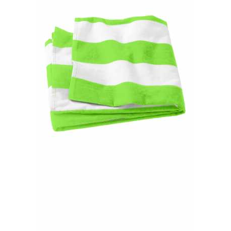 Port Authority PT43 Cabana Stripe Beach Towel