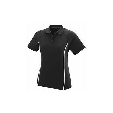 Augusta Sportswear 5024 Ladies Wicking Polyester Mesh Sport Shirt with Contrast Inserts