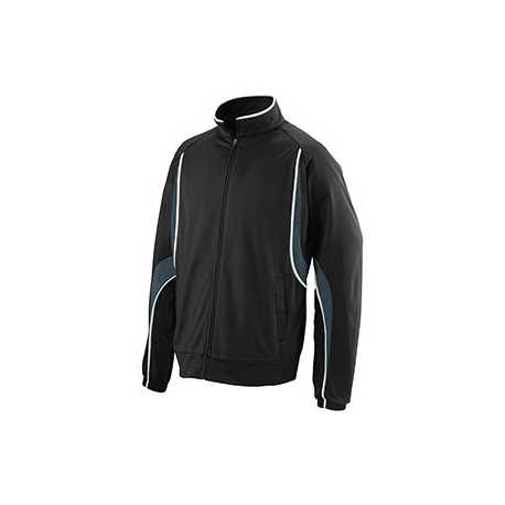 Augusta Sportswear 7711 Youth Polyester Brushed Tricot Jacket