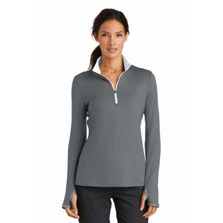 Nike 779796 Ladies Dri-FIT Stretch 1/2-Zip Cover-Up