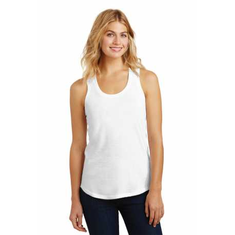 District Made Made DM138L Made Ladies Perfect Tri Racerback Tank